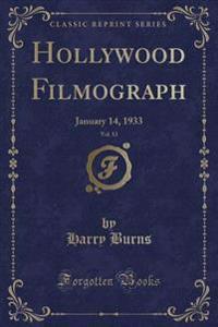 Hollywood Filmograph, Vol. 13