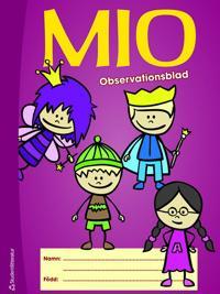 MIO - observationsblad 10-pack