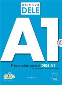 Objetivo DELE A1. Buch mit Audio-CD