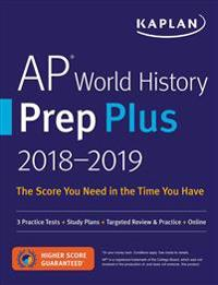 Kaplan AP World History Prep Plus 2018-2019