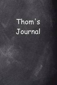 Thom Personalized Name Journal Custom Name Gift Idea Thom: (Notebook, Diary, Blank Book)Istinctive
