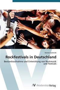 Rockfestivals in Deutschland