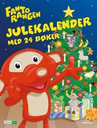 Fantorangen julekalender 2017 med 24 bøker