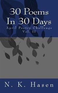 30 Poems in 30 Days: April Poetry Challenge