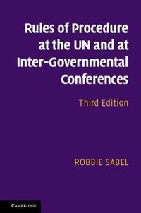 Rules of Procedure at UN and Inter-Governmental Conferences