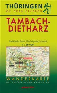 Wanderkarte Tambach-Dietharz 1:30.000