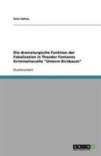 Die Dramaturgische Funktion Der Fokalisation in Theodor Fontanes Kriminalnovelle Unterm Birnbaum