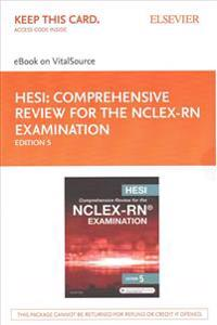 Hesi Comprehensive Review for the NCLEX-RN Examination eBook on VitalSource Access Code + Hesi Comprehensive Review for the NCLEX-RN Examination Evolve Resources Access Code
