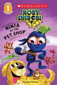 Ninja at the Pet Shop