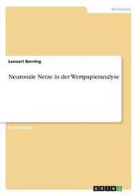 Neuronale Netze in Der Wertpapieranalyse