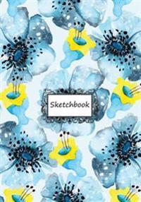 Sketchbook: Flora Pattern.3: 110 Pages of 7 X 10 Blank Paper for Drawing, Doodling or Sketching (Sketchbooks)