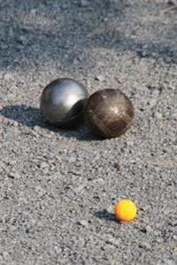 Bocce Boules Balls Sports and Recreation Journal: 150 Page Lined Notebook/Diary