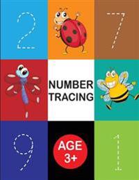 Number Tracing Practice: Number Practice for Preschool - Daily Handwriting Practice for Kids 3+ (Handwriting Practice): Tracing Letter for Kids