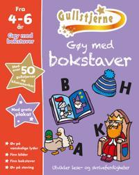 Gøy med bokstaver. 4-6 år. Gullstjerne - Kirsten Brustad, Betty Root | Ridgeroadrun.org
