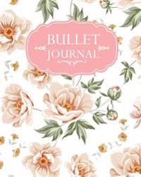 Bullet Journal: Pink Floral Pattern Cover - 150 Pages Bullet Journal Notebooks - 150 Pages Dot Journal - Vol.1: Bullet Journal Noteboo