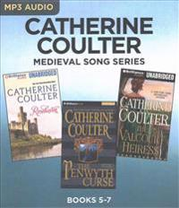 Catherine Coulter Medieval Song Series: Books 5-7: Rosehaven & the Penwyth Curse & the Valcourt Heiress