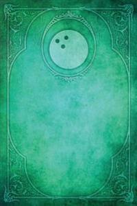 Monogram Bowling, American Notebook: Blank Diary Journal Log