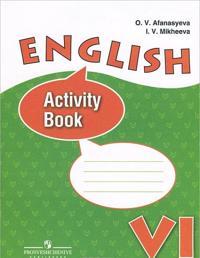 English 6: Activity Book / Anglijskij jazyk. 6 klass. Rabochaja tetrad
