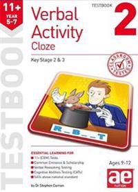 11+ Verbal Activity Year 5-7 Cloze Testbook 2