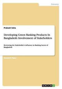 Developing Green Banking Products in Bangladesh