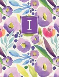 Personalized Posh: Watercolor Bloom (I) 2018 Monthly/Weekly Planning Calendar