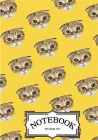 "Notebook: Cat Pattern Vol.2: Notebook Journal Diary, 120 Lined Pages, 7"" X 10"""
