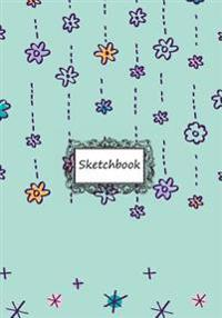 Sketchbook: Little Flowers: Notebook Journal Diary, 110 Lined Pages, 7 X 10