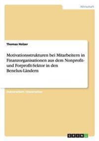 Motivationsstrukturen Bei Mitarbeitern in Finanzorganisationen Aus Dem Nonprofit- Und Forprofit-Sektor in Den Benelux-Landern