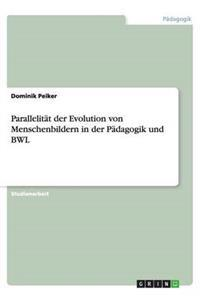 Parallelitat Der Evolution Von Menschenbildern in Der Padagogik Und Bwl