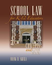 School Law for K-12 Educators