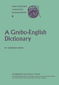 A Grebo-english Dictionary