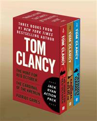 Tom Clancy's Jack Ryan Action Pack: The Hunt for Red October/The Cardinal of the Kremlin/Patriot Games