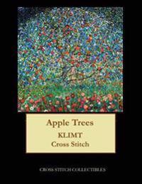 Apple Trees: Gustav Klimt Cross Stitch Pattern