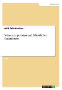 Diskurs Zu Privaten Und Offentlichen Hochschulen