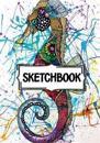 Sketchbook: Art Watercolor Sea Horse Vol.1: 120 Pages of 7 X 10 Blank Paper for Drawing, Doodling or Sketching (Sketchbooks)
