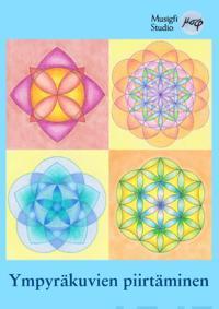 Ympyräkuvien piirtäminen - symmetriset taidekuvat harpilla