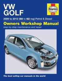 Vw golf petrol & diesel - (09 - 12) 58 to 62