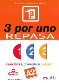 3 por uno - Repasa (A2). Buch + Audio-Online