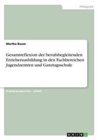 Gesamtreflexion Der Berufsbegleitenden Erzieherausbildung in Den Fachbereichen Jugendzentren Und Ganztagsschule