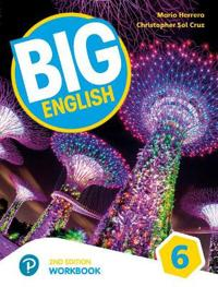 Big English AmE 2nd Edition 6 Workbook for Pack
