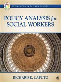 Policy Analysis for Social Workers