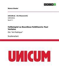 Fallbeispiel Zu Bourdieus Feldtheorie: Paul Verlaine