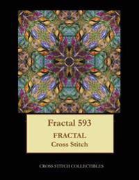Fractal 593: Fractal Cross Stitch Pattern