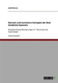 Normen Und Normative Konzepte Der Real Academia Espanola