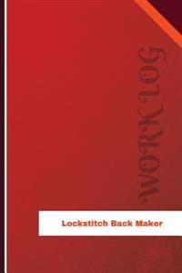 Lockstitch Back Maker Work Log: Work Journal, Work Diary, Log - 126 Pages, 6 X 9 Inches