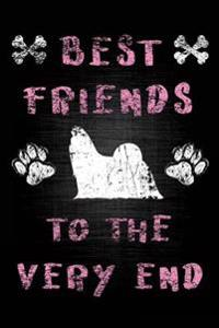 Best Friends to the Very End: Dog Memory Journal Notebook V6