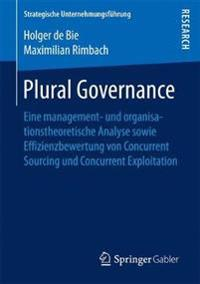 Plural Governance