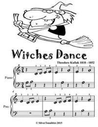 Witches Dance - Beginner Piano Sheet Music Tadpole Edition