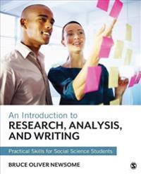 Introduction to Research, Analysis, and Writing