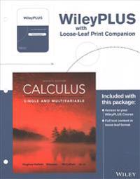 Calculus Single and Multivariable with Loose-Leaf Print Companion